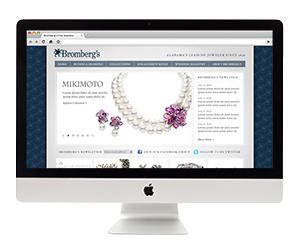 Bromberg's Jewelry Website Design
