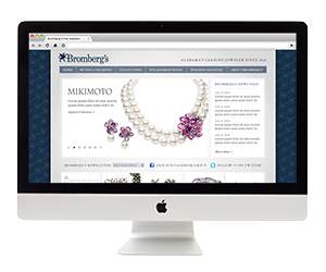 Bromberg's Jewelry Website Design