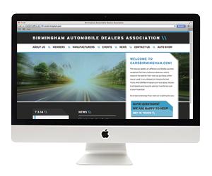 Birmingham Auto Dealers Association Website Design