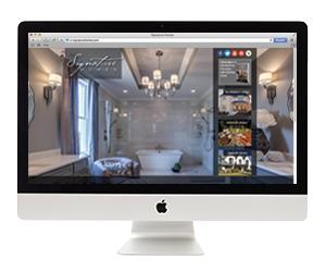 Signature Homes Website Design