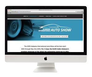 Birmingham Auto Show Website Design