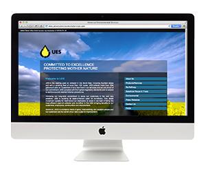 UES Website Design