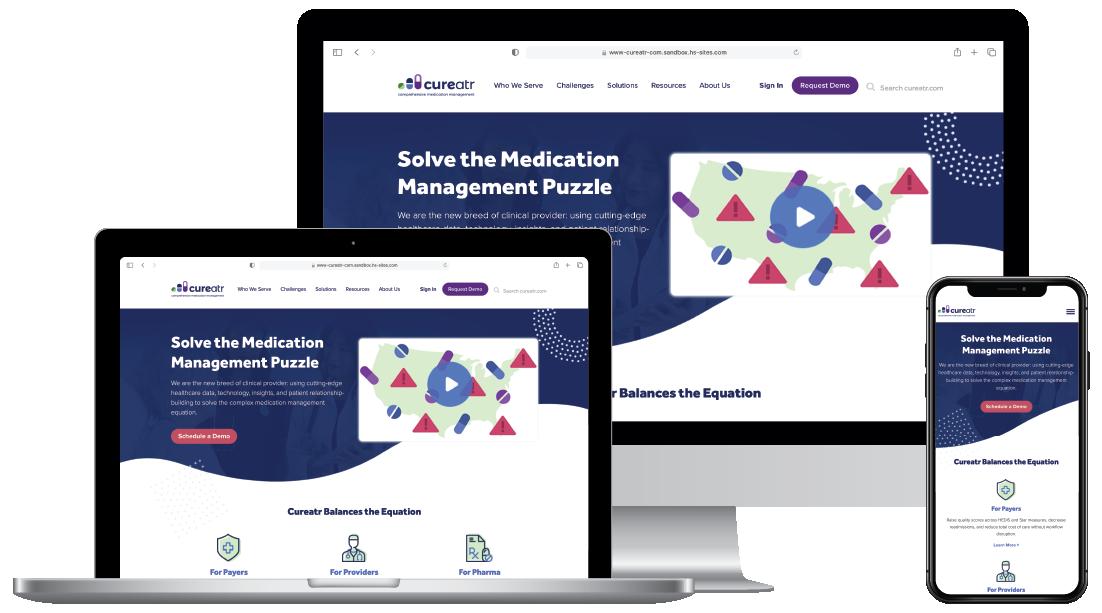Cureatr Website