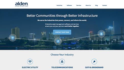 Alden Systems Website