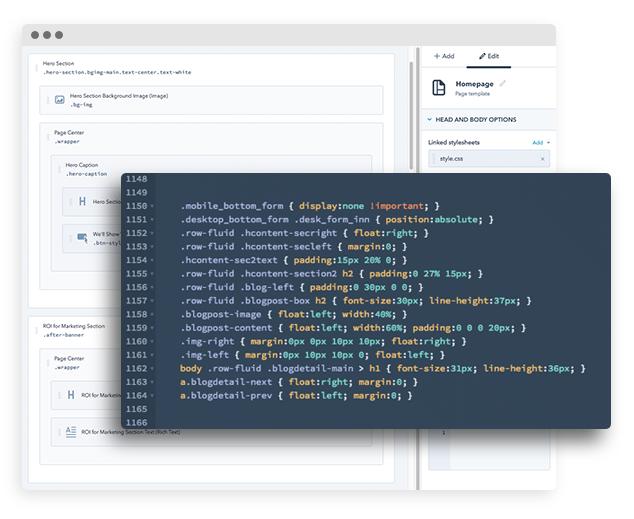 HubSpot and Wordpress Website Development