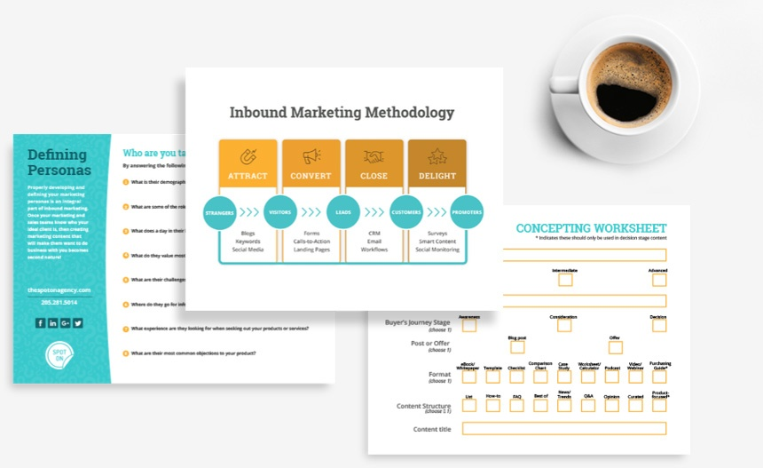 Digital Marketing Strategy Documents