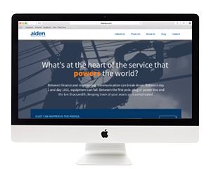 Alden Systems Website Design