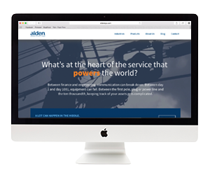 Alden Systems Website Design