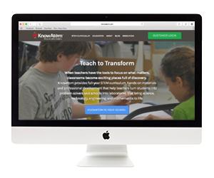 KnowAtom Website Design