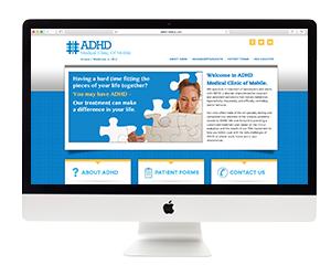ADHD Clinic Website Design
