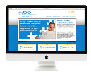 ADHD Clinic Website Design