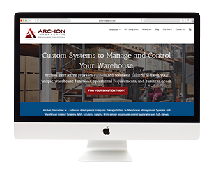 Archon Interactive Website Template Design