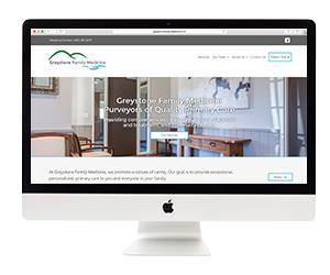 Greystone Family Medicine Website Template Design