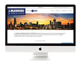 LTCI Partners Web Page Development