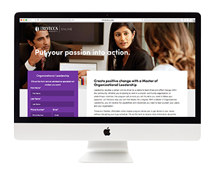 Trevecca University Landing Page Development