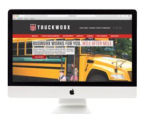Truckworx Website Design