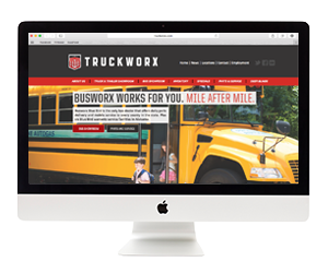 Truckworx Website Design